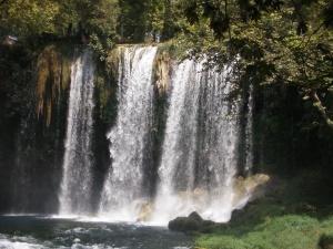 Antalya - vodopády Düden
